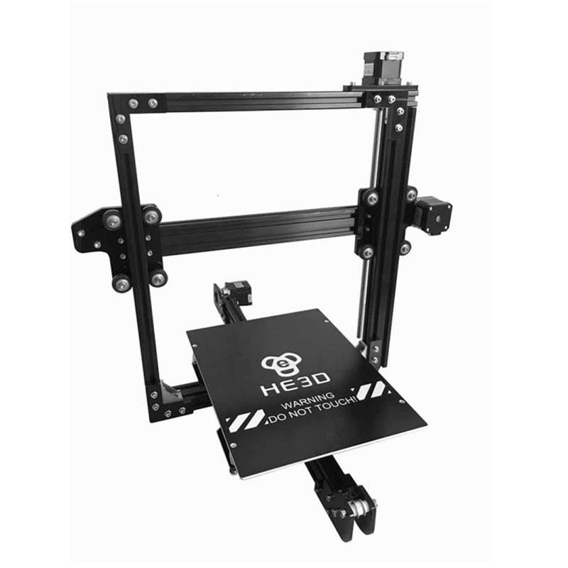 Reprap large build area 200*280*200mm_HE3D EI3 Single extruder_prusa i3 E3D nozzle 3d printer kit_ PLA filaments for gift