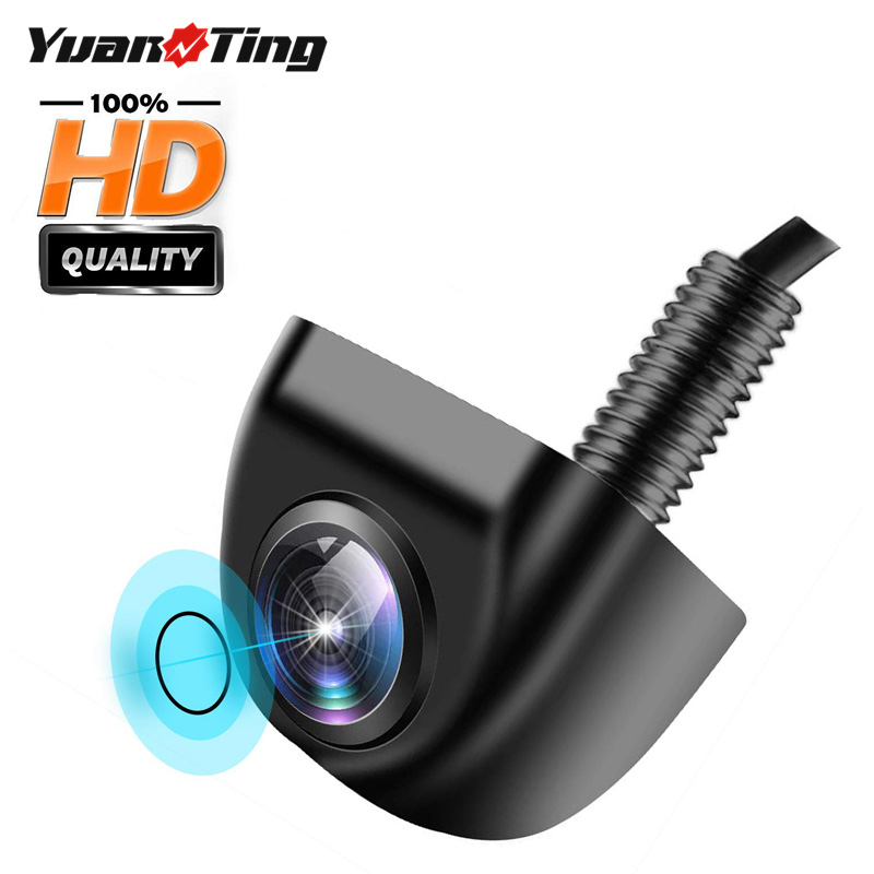 YuanTing Car Rear View Camera Night Vision Waterproof Reversing Auto Parking Monitor Waterproof 170 Wide Angle HD Image Cam