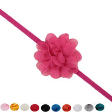 MUQGEW baby headbands handmade Kids Baby Headband Toddler Lace Flower Hair Band coles para el cabello de ni a#y2(China)