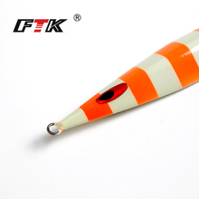 FTK 1PC Weight 250g Length 170MM  Pesca Metal Sequins Jigs Saltwater Road Sub Lure Fishing