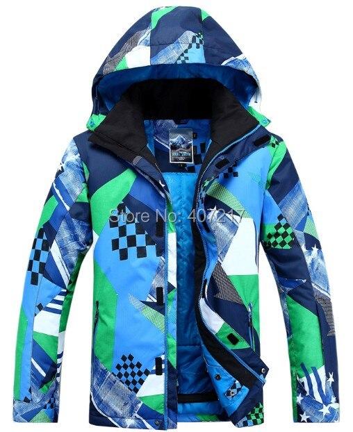 Sněhové pánské snowboardové snowboardy Sněhové lyžařské bundy zimní větruvzdorné voděodolné bez dýchání termální outdoorové sportovní bundy bunda S-XL