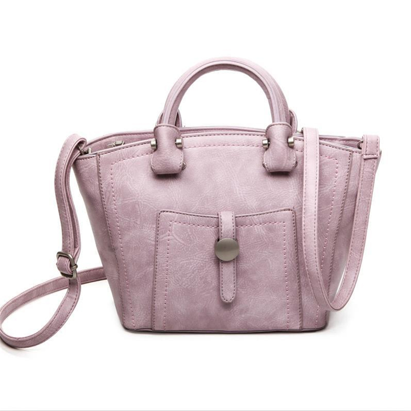 Women Messenger Bags 2017 Casual Women's Leather Handbags Shoulder Crossbody Bag Ladies Hobos Bag