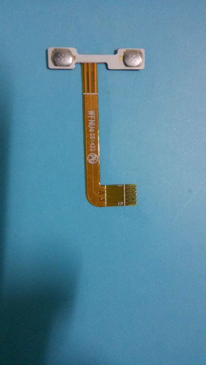 Original THL 4400 / 5000 Volume Button Flex Cable FPC Smart Cell Phone free shipping