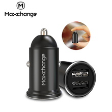 Mini USB Car Charger For Mobile Phone Tablet GPS 3.1A Fast Car-Charger Dual Adapter in
