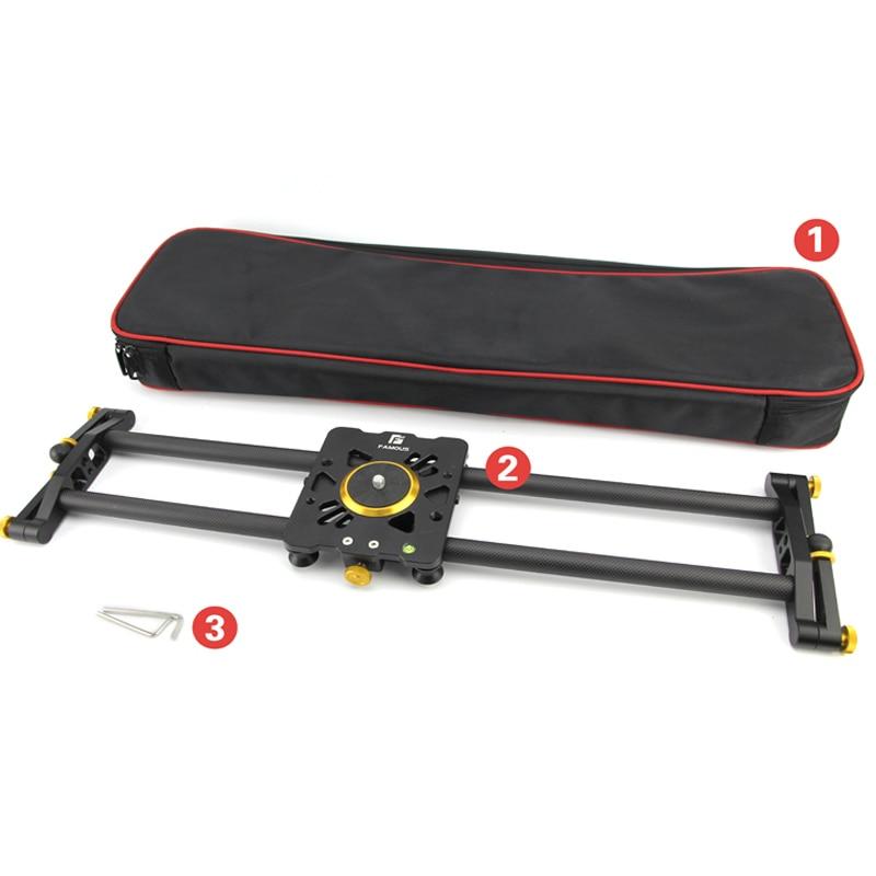 Cámara slider cámara vídeo ferrocarril de slider parlee 100cm