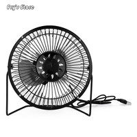 Fry's Store USB Mini Portable Fan Solar Panel Powered for Cooling Ventilation Home Travelling Fishing for Dropshipping