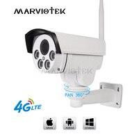4G LTE wireless IP Camera outdoor 960P 3G gsm cctv camera video surveillance ip camera 1080P ip ptz cameras with sim card slot