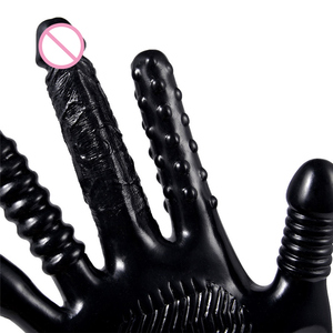 Image 4 - Electric Sex Finger Gloves Dildo Vibrators Masturbator for Women Vibrator Erotic Sex Toys For Adults G Spot Clitoris Stimulator