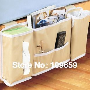 Free shipping High quality magazine/objects remote control bed hanging/storage bag,organizer sorting bags,wholesale,CY-SB31