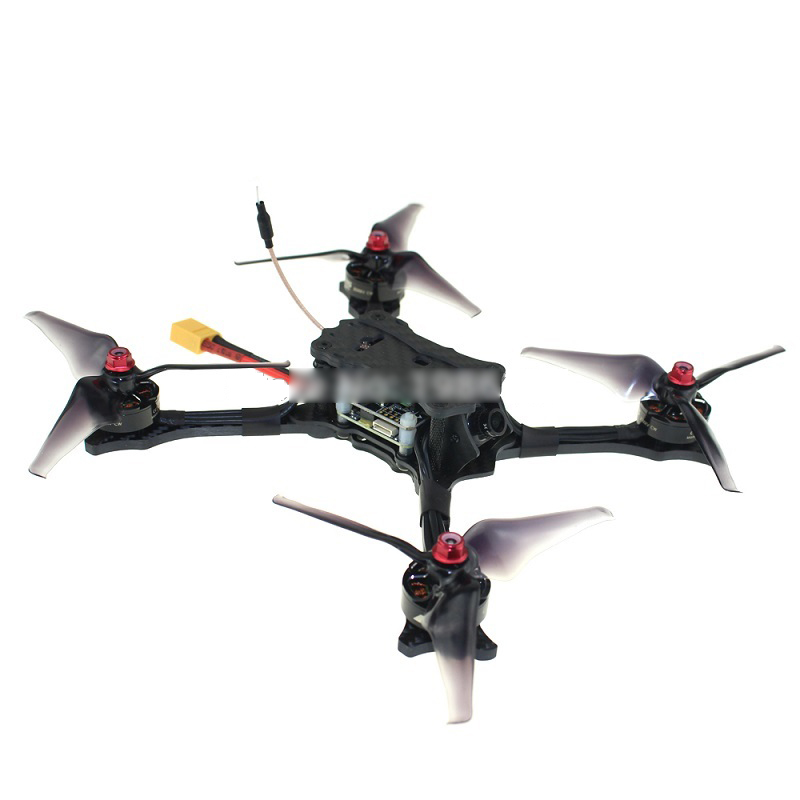 EMAX HAWK 5 Brushless FPV Racing Drone BNF 600TVL Camera F4 OSD BLHeli-S 30A FC FRSKY XM+ for DIY Racer Free Style 4x 2300kv rs2205 racing edition motor 4x lhi lite 20a blheli s speed controller bb1 2 4s brushless esc for fpv racer