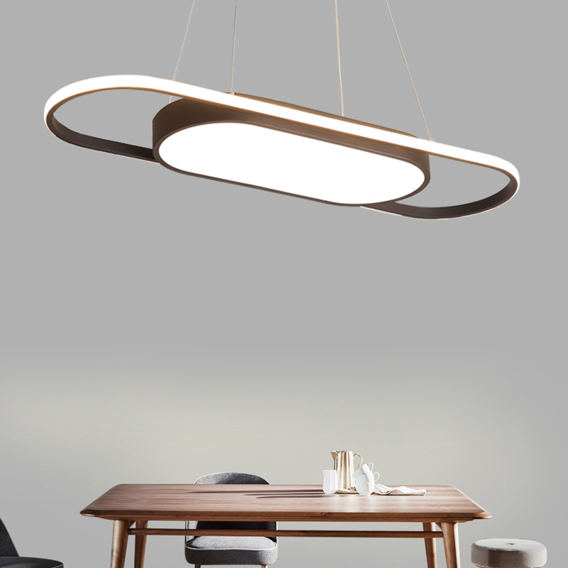 Coffee or White Color 900mm Length White or Black Modern led Pendant Lights For Dining Room Kitchen Room Bar Pendant Lamp cailyn tinted lip balm mauve бальзам оттеночный для губ тон 18 4 мл