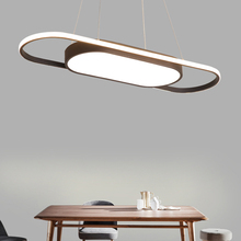 Coffee or White Color 900mm Length White or Black Modern led Pendant Lights For Dining Room Kitchen Room Bar Pendant Lamp artpad white black modern design metal pendant lights for dining room kitchen e27 base bird cage retro pendant lamp bar light