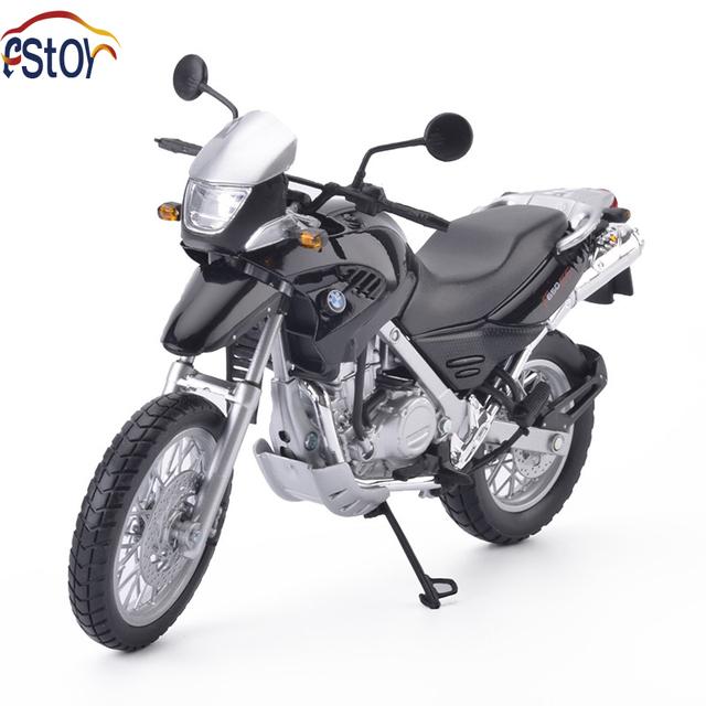 Aleación diecast modelo de la motocicleta F650GS 1:12 high speed carreras de motos off road coche de juguete de regalo de colección