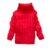 Niños Niñas Chaqueta De Punto 2017 Otoño Invierno de Color Sólido Bebé Niño Niña bebé Suéter de Cuello Alto Suéter de Punto prendas de Vestir Exteriores