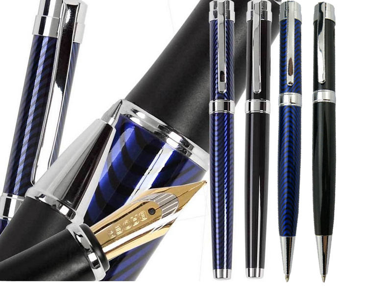 Gel Roller Ball pen / Ballpoint pen / Fountain Pen Baoer 027 2 colors to choose signature pens FREE SHIPPING - INSURANCE jinhao vintage style 3d snake pattern ballpoint pen 0 7mm roller ball pens free shipping