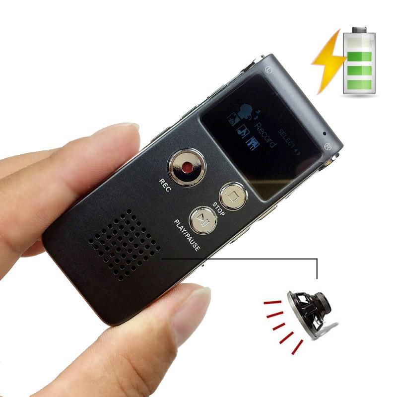 Unterhaltungselektronik Digital Voice Recorder 8 Gb Digital Voice Telefon Recorder Mp3 Mit Lautsprecher Professionelle Digital Stereo Voice Recorder Diktiergerät Wma Mic Usb Sk012 Durchblutung Aktivieren Und Sehnen Und Knochen StäRken