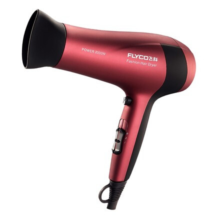 Anion home hair dryer 2000W high-power hot and cold hair salon low noise hair dryer overheating protection charming purple pink cute rabbit student dorm room tourism dedicated dryer hair low power 450w foldable portable small mini hair dryer