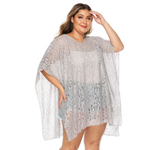 tunic transparent blouse lace beach dress shirts loose kaftan cover ups kimono women tunic blusas tops oversized mujer vestidos цена и фото