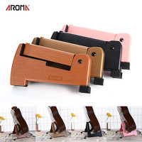AROMA Second Foldable And Retractable Guitar Bracket Guitar Stand Guitar Stand Acoustic Guitar Stand For Multiple