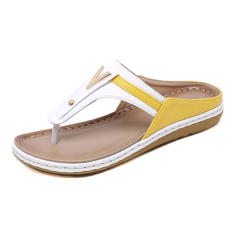 2019 Summer Women Shoes Flip Flops Ladies Beach Sandals Plus Size Women Sandals Flat Women Flip 2019 Summer Women Shoes Flip Flops Ladies Beach Sandals Plus Size Women Sandals Flat Women Flip Flops Fashion Luxury Brand A912