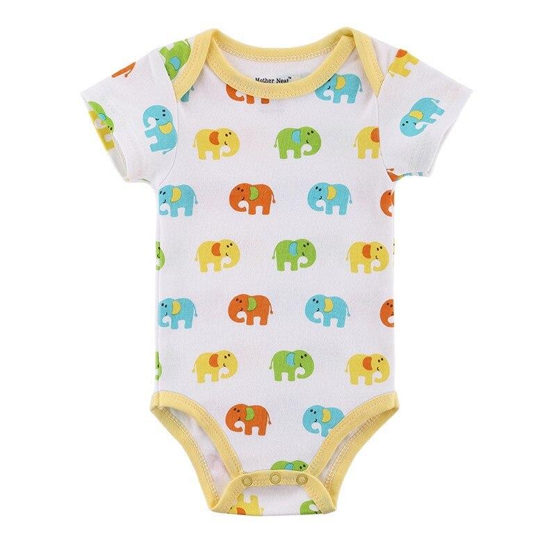 Baby Rompers Baby Boy Girl Romper Kortärmad Nyfödda Baby Kläder - Babykläder