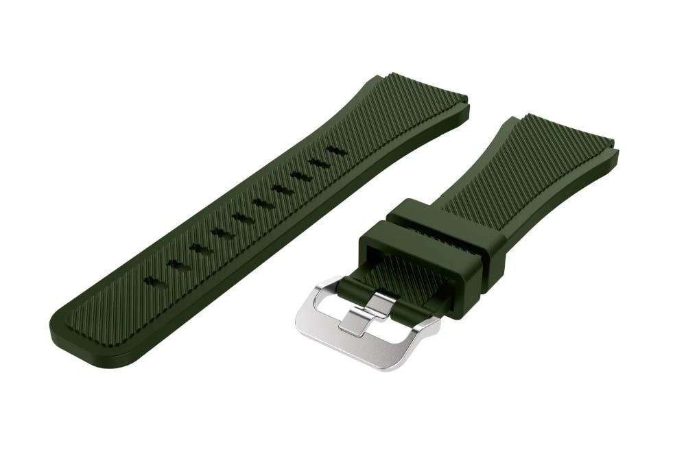Correa de reloj de pulsera de silicona deportiva para Samsung Gear S3 - Accesorios para relojes - foto 5