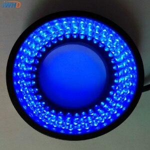 Para a Visão Da Máquina Diâmetro 40mm Poder 3.5 W Fonte de Luz do Anel 60 Graus Ângulo Luzes LED Anel de Luz Azul brilho ajustável|led machine light|machine light|machine lighting led -