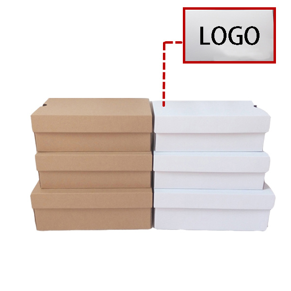 Personnalis ajouter impression logo 10 tailles blanc - Boite a chaussure en carton ...