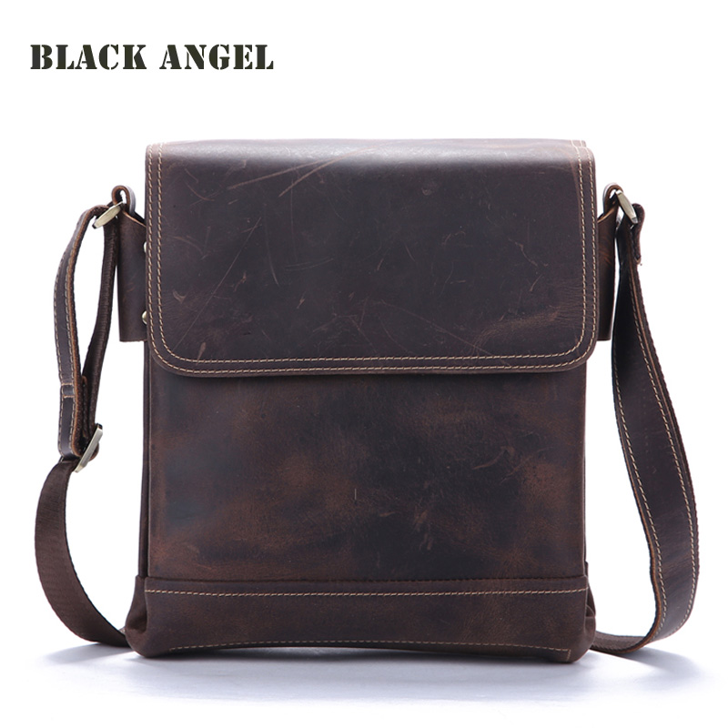 Classic Vintage men bag genuine leather business men messenger bag Casual Crossbody Bags High Quality casual canvas women men satchel shoulder bags high quality crossbody messenger bags men military travel bag business leisure bag