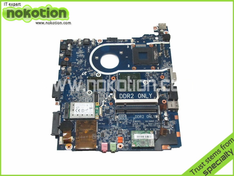 NOKOTION BA92-04641A BA92-04641B laptop motherboard for samsung R20 R25 BA41-00810A ATI 216PWAVA12FG DDR2 free cpu nokotion ba92 05907b ba92 05907a notebook pc motherboard for samsung r505 main board sockets1 ddr2 ati free cpu