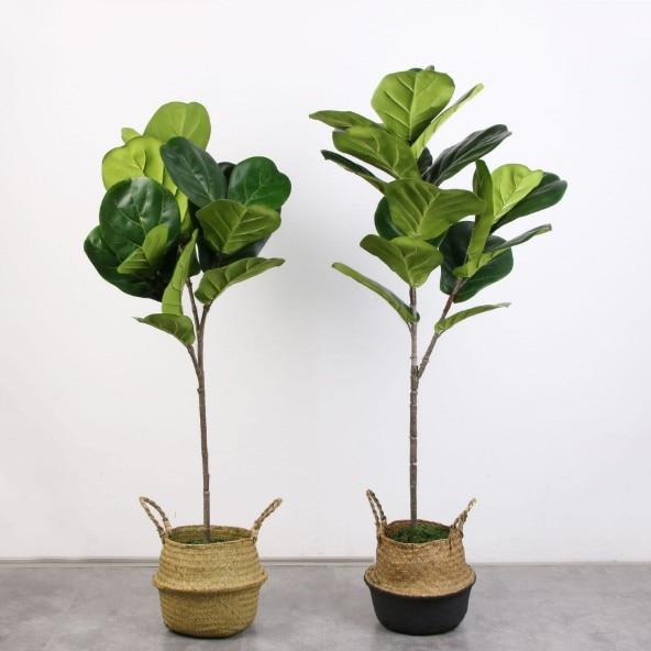 5 PCS Vero Tocco Artificiale Banyan Ramo di Un albero Artificiale albero di Banyan Pianta Falso albero di Banyan Bouquet Per La Casa Decorazione del Giardino-in Piante artificiali da Casa e giardino su  Gruppo 1