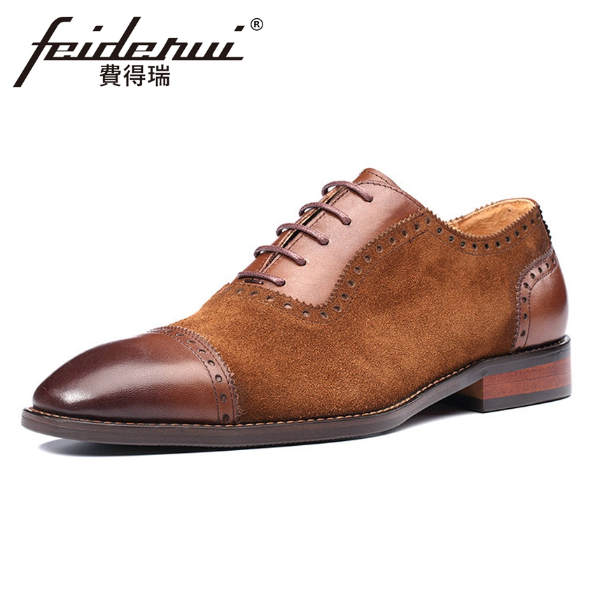 Plus Size Formal Dress Cow Suede Leather Mens Carved Oxfords Wingtip Handmade Pointed Toe Wedding Party Brogue Shoes MLT38Plus Size Formal Dress Cow Suede Leather Mens Carved Oxfords Wingtip Handmade Pointed Toe Wedding Party Brogue Shoes MLT38