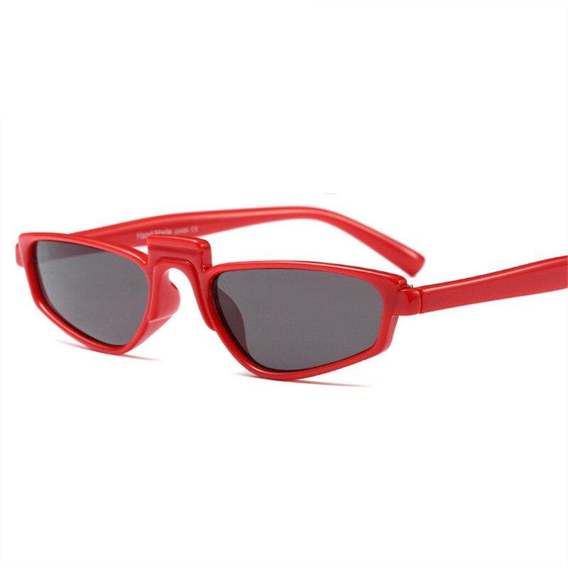 dff18d354f YOOSKE gafas de sol pequeñas para mujer, gafas de diseño Vintage únicas,  montura ovalada