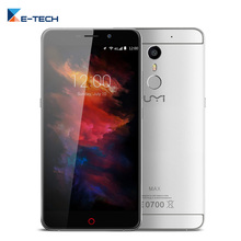 Umi MAX Helio P10 Octa Core Cell Phone 5.5 Inch 3GB RAM 16GB ROM Smartphone 1920*1080 4G LTE Fingerprint Android 6 Mobile Phone