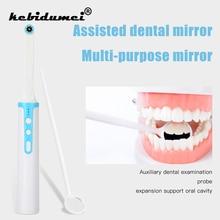 Endoscopio Intraoral con WiFi y cámara Dental, 8 Uds., luz LED, Cable USB, inspección para dentista, vídeo Oral en tiempo Real, herramienta Dental