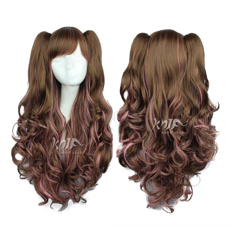 High quality Harajuku font b hair b font accessories 80cm 580g synthetic curly font b hair