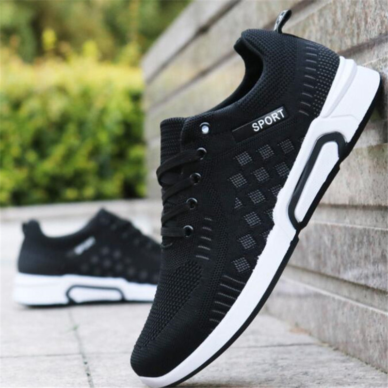 Spring and autumn new wild sneakers breathable casual shoes men's shoes men's movement tide shoes students stencil shoes
