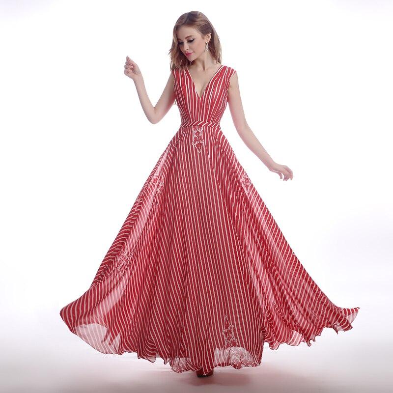 2015 Sexy drapeado princesa vestido de noche Formal piso vestidos ...