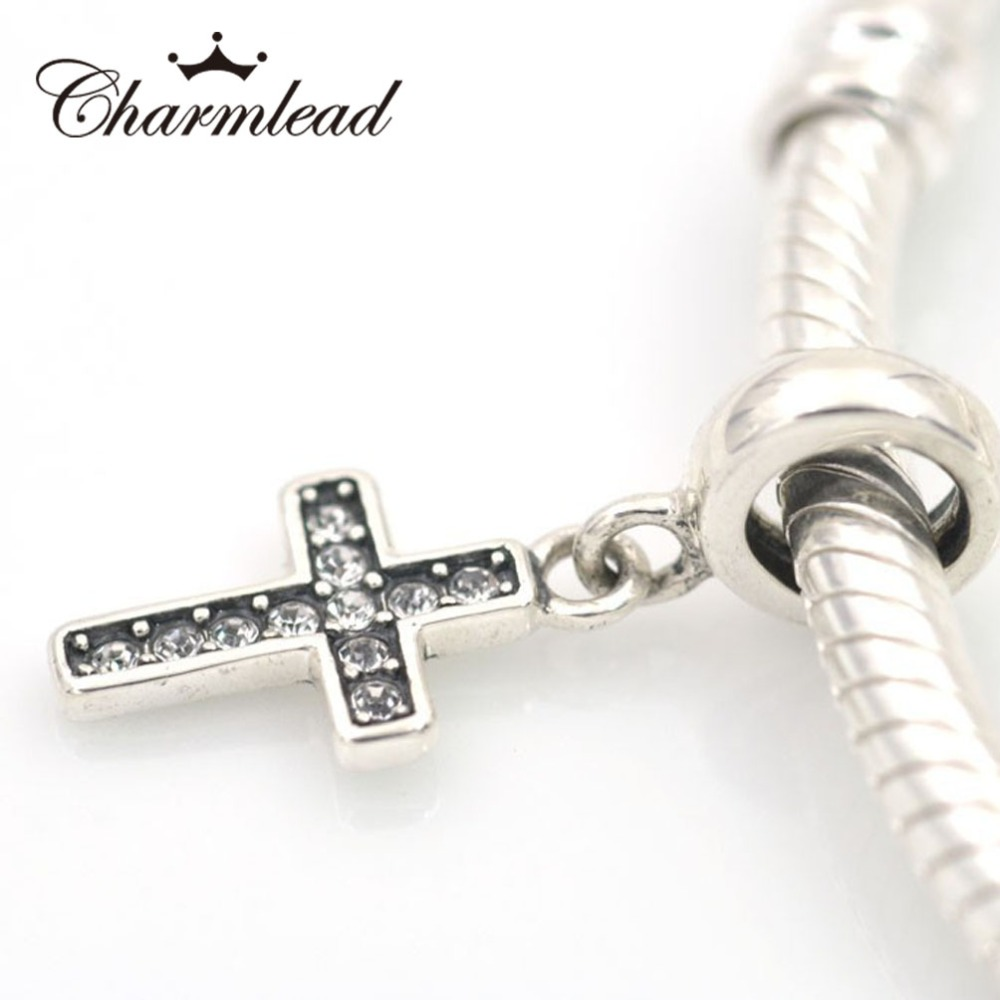 charm pandora croce