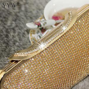 Image 3 - Noite feminina bolsa de embreagem diamante embreagem feminina prata dia embreagem banquete festa casamento bolsa preto/ouro bolsas mujer 2019