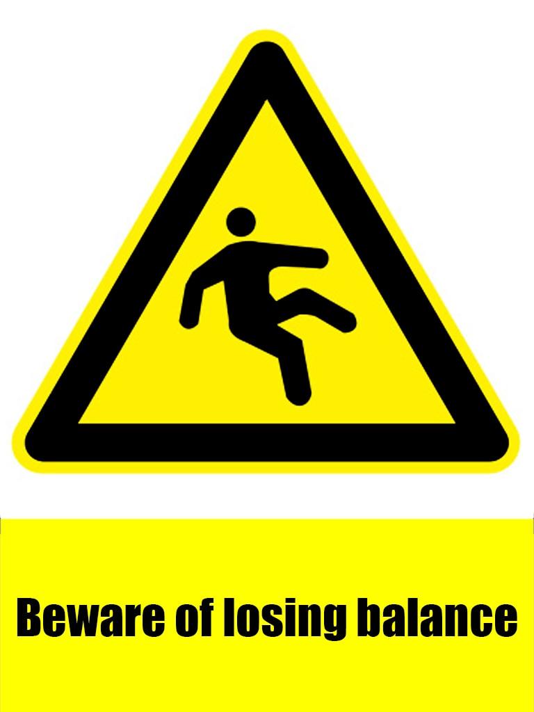 15x20 см 1 шт. запрещено знак Остерегайтесь шума предупреждающий знак безопасности наклейки Настенный декор для школ стены и полы стайлинга ав...
