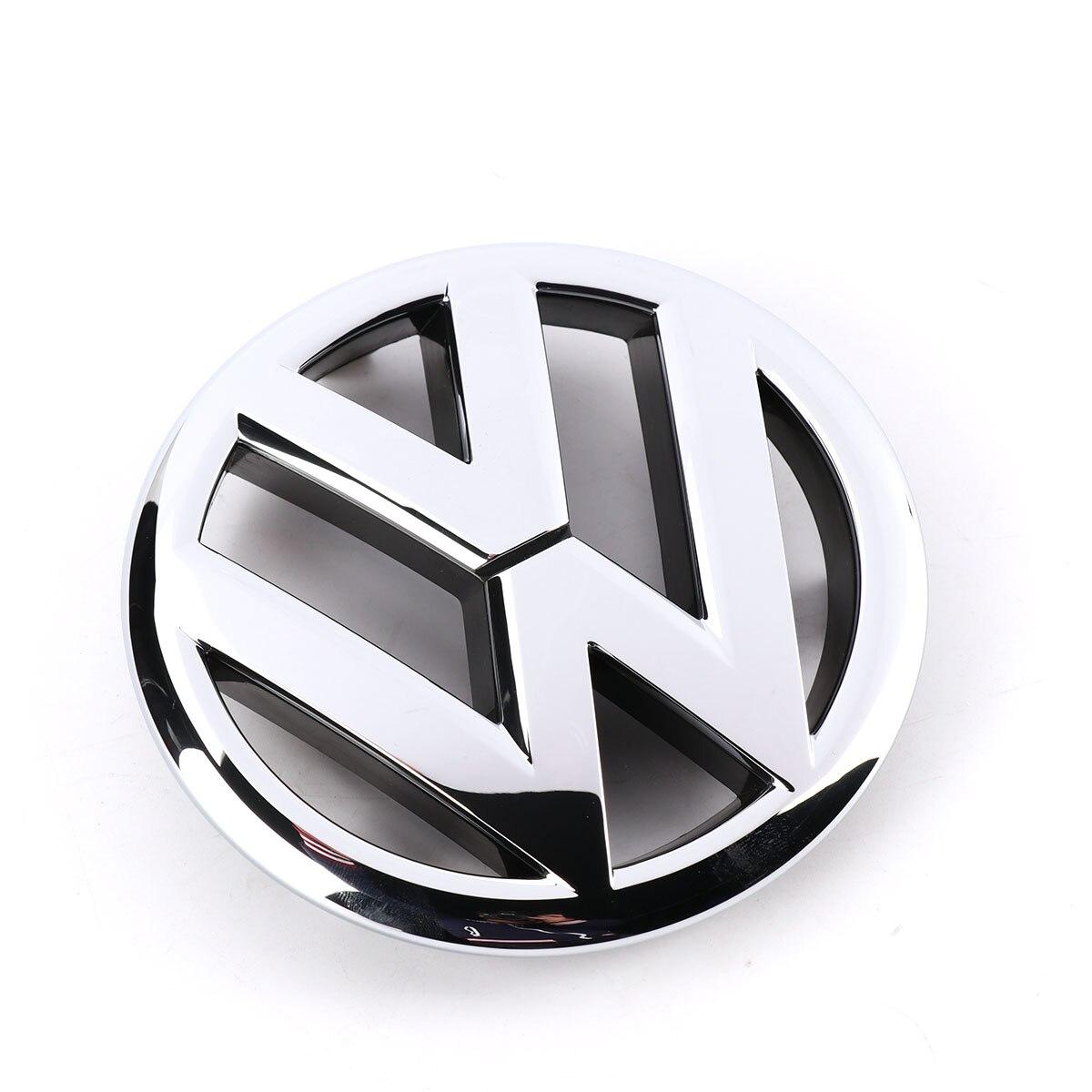 Auto Auto VW Emblem Chrom OEM Kühlergrill Abzeichen Aufkleber Für Volkswagen Jetta MK6 Limousine 2011-2015 5C6853601ULM
