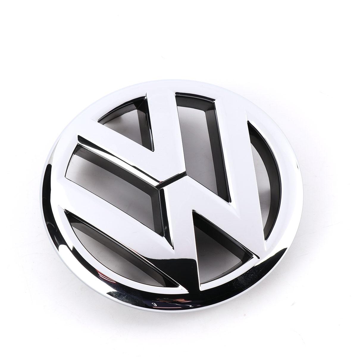 Car Auto emblema VW OEM cromo parrilla delantera etiqueta insignia para Volkswagen Jetta MK6 Sedan 2011-2015 5C6853601ULM