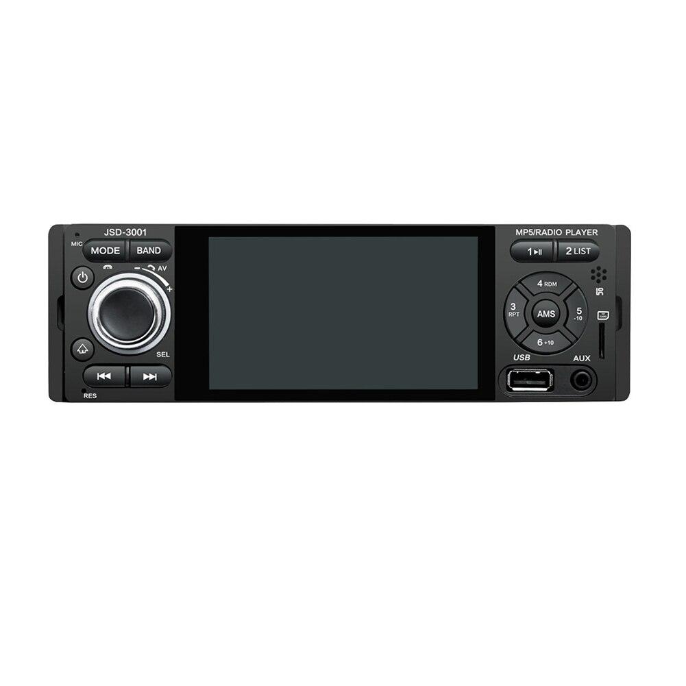 4.1 pouces 1din FM AUX Rechargeable écran télécommande voiture MP5 lecteur Bluetooth vue arrière Radio stéréo USB HD caméra