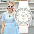 Leather Bracelet Watch Wristwatch Women Fashion Luxury Watches Quartz 6 Color Leather Strap Women Branded  Waterproof Watches