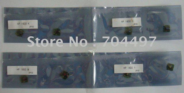 NEW color laser toner chip Q6000BK/C/M/Y for HP color laser printer