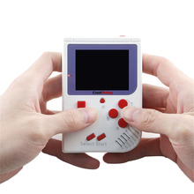 RS-6 Retro Mini Handheld Game Console Game Player Built-in 129 Classic Games 8 bit 2.0 inch LCD Color For Boy Hand Held Games
