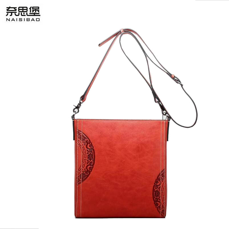 2017 New women genuine leather handbags luxury women bags designer fashion women shoulder Crossbody bag leather cowhide bag fashion leather handbags luxury head layer cowhide leather handbags women shoulder messenger bags bucket bag lady new style