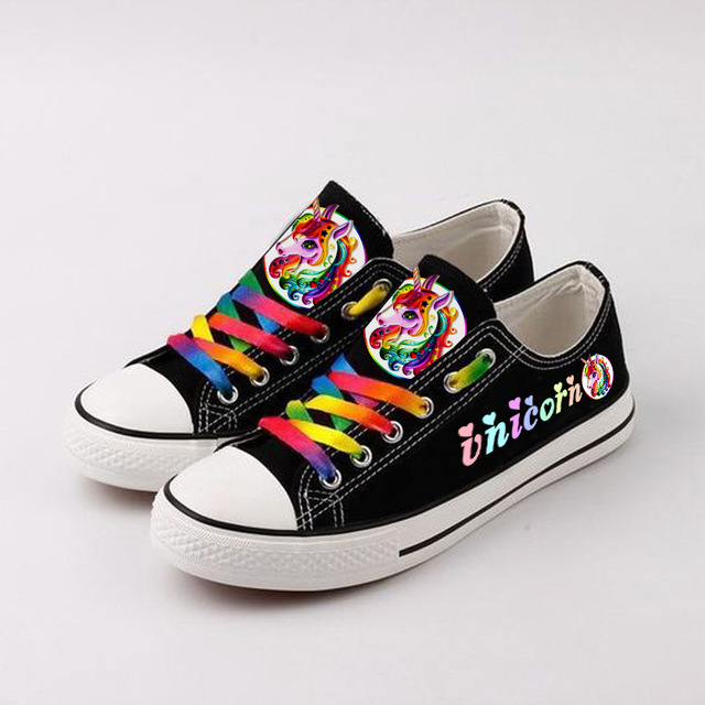 Colorful Unicorn Sneakers