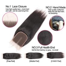 Brazilian Straight Bundle Black Color Non Remy Human Hair Extension